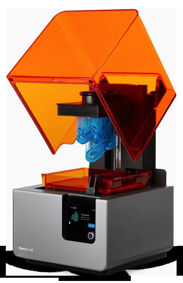 En Formlabs SLA printer gør det nemt at lave professionelle print med høj detaljegrad.